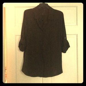 Olive Tunic Blouse